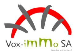 Vox-Immo SA - Appartement de haut standing -- 3,5 pièces - rez de jardin