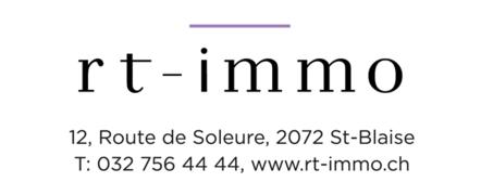 RT-Immo SA - Joli appartement de 2.5 pièces avec terrasse