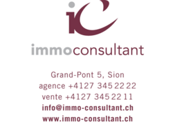 Immo-Consultant  - A11 - 2.5 pces -